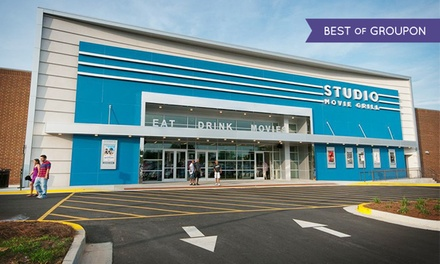 $5 for a Movie Ticket at Studio Movie Grill ($10.50 Value)
