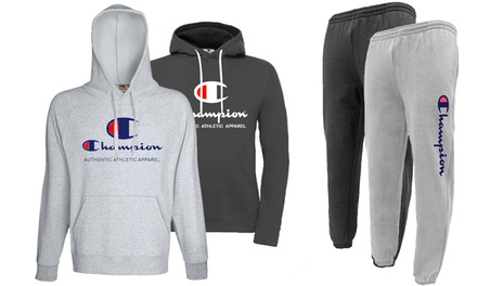 Champion Hoodie and Trousers Set