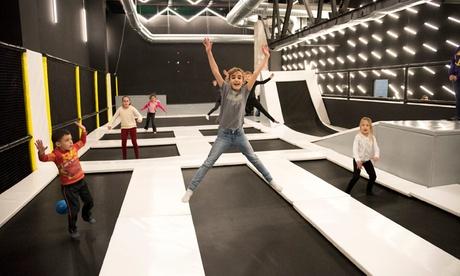 Jumping, funnyclimbe, chuches y softplay para hasta 4 o cumpleaños para hasta 12 niños desde 19,99 € en 7 Fun Center