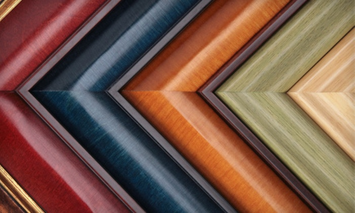 Frames + - Frames Plus (Located Behind Carrabba's): $45 for $100 Worth of Custom Framing at Frames +