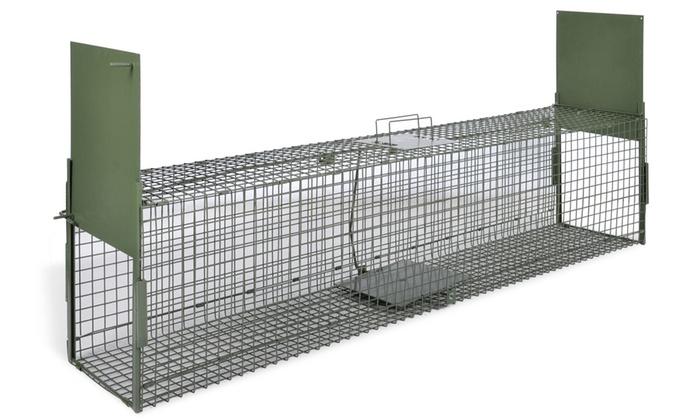 Cage piège pour animaux   Groupon Shopping dc986d805c03