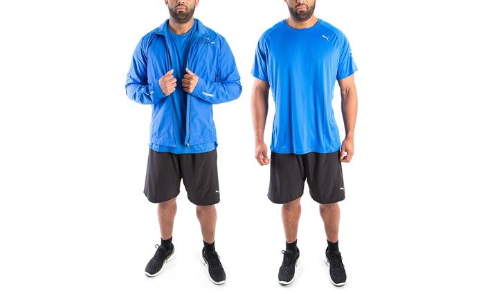 PUMA Shorts, T-Shirt oder Windjacke für Herren im Modell nach Wahl