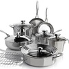 Wolfgang Puck Bistro Elite Stainless Steel Cookware Set (13-Piece)