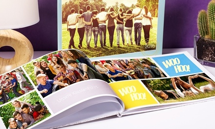 Up to Five Personalised Hardcover A4 Photobooks with Up to 60 Pages from Colorland