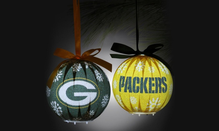 b42cbf96 Up To 40% Off on NFL LED Christmas Ornaments | Groupon Goods