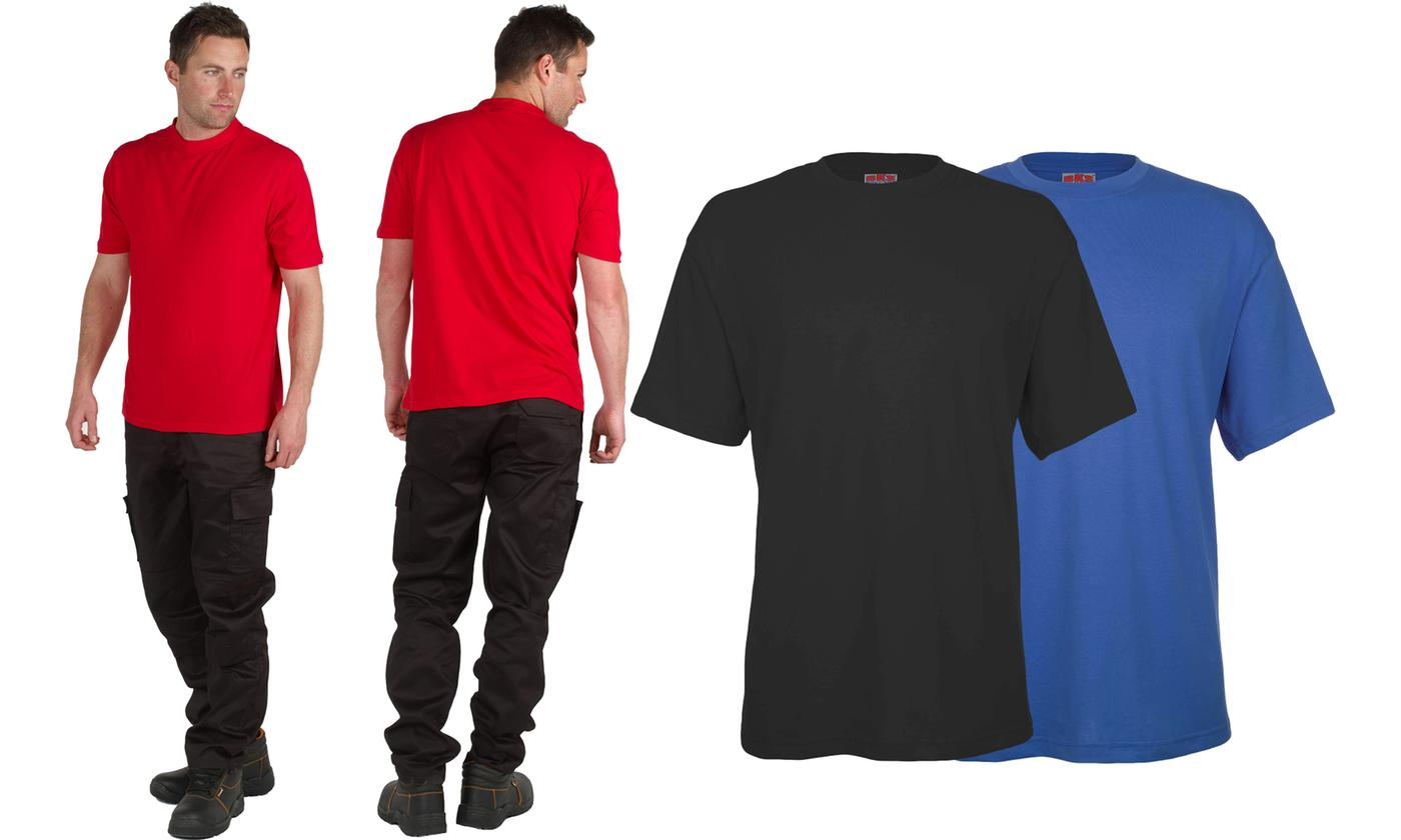 Five-Pack of Men's Classic T-Shirts