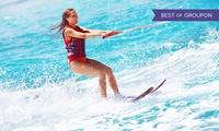 2 Stunden Wasserski oder Wakeboard inkl. Ausrüstung bei Wasserski Harburg (25% sparen*)