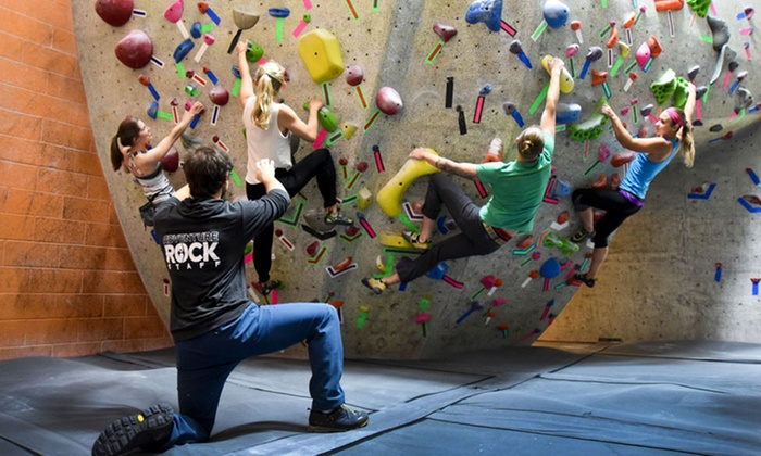 Adventure Rock Indoor Climbing Gym - Multiple Locations: $55 for an Indoor Rock-Climbing Membership & Intro Climbing Lessons at Adventure Rock Indoor Climbing Gym ($99 Value)