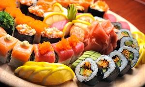 Sushi Artist: Bandeja de sushi y bebida desde 12,90 € en local o para recoger junto al Bernabéu