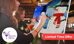 The Original Paint Nite at Local Bars (Up to 37% Off)  at Paint Nite, plus 6.0% Cash Back from Ebates.