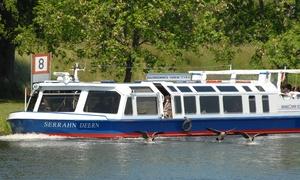 BDA - Bergedorfer Schiffahrtslinie: 3 Std. exklusives Brunchen auf dem Wasser inkl. Kaffee für 1 Person mit der Bergedorfer Schifffahrt (28% sparen*)