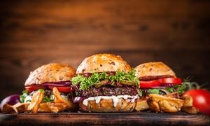 Burgerdieb: 1x, 2x oder 3x All-you-can-eat-Burger inkl. Beilage nach Wahl bei Burgerdieb (bis zu 72% sparen*)