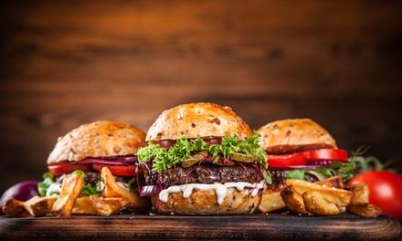 1x, 2x oder 3x Burger-All-you-can-eat inkl. Beilage nach Wahl bei Burgerdieb (bis zu 57% sparen*)