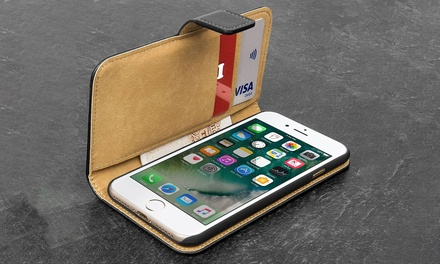Apachie PU Leather Flip Case for iPhone