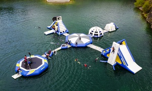 Ballyhass Aqua Park: Aquapark Entry for One Child, One Adult, or a Family of Four at Ballyhass Aqua Park (Up to 30% Off)