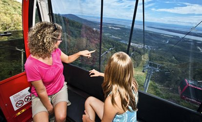 Round-trip Gondola For an Adult or a Family With a Frozen Treat at Mont Ste-Anne (Up to 45% Off)