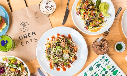 UberEATS: $3 for $15 Credit, or $4 for $7 Off First Three Orders ($7 Off x 3)   New Users Only