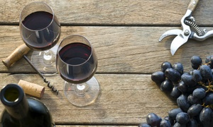 Old Stone Winery: Winetasting with Artisan Chocolate Truffles and Souvenir Glasses for Two or Four at Old Stone Winery (58% Off)