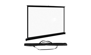 """Favi 50"""" 16:9 Portable Projector Screen with Travel Bag"""