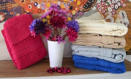 Accappatoio con cappuccio Colours, disponibile in 5 colori e varie taglie