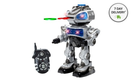 RoboKid Programmable Disk-Shooting Remote-Control Robot. Free Returns.