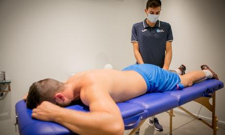 1 o 3 sesiones de fisioterapia deportiva con diagnóstico y valoración previa en Health Valencia Academy