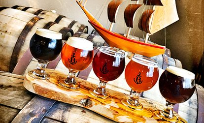 image for Tasting Flights for Two or Four at Biscayne Bay Brewing Company (38% Off)