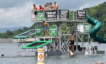 Two-Hour Tarzan Boat Open Play for One or Two at Captain John's Fawn Harbor (Up to 54% Off)