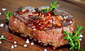 Waldhaus Resse: 4-Gänge-Menü mit Waldhaus-Steak-Teller für Zwei, Vier oder Sechs im Waldhaus Resse ab 28,90 € (bis zu 58% sparen*)