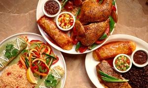 Bandido: Mexikanische Spezialitäten Platte nach Wahl für 2 oder 4 Personen im Restaurant Bandido