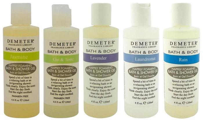 Demeter Bath and Shower Gel (Various Scents Available)