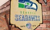 NFL Metal Tavern Sign (Cardinals, Seahawks & Dolphins): NFL Metal Tavern Sign (Cardinals, Seahawks & Dolphins)