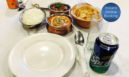 Choice of Curry & Soft Drink for Two $25 or Four People $50 at Rassam the Taste of Madras Up to $85.80 Value