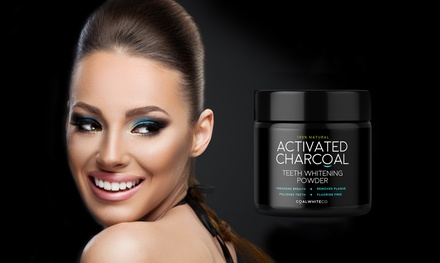 Coal White polvo blanqueador de dientes con carbón activado