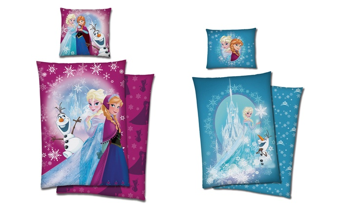 Frozen Bettwäsche Set Für Kinder Groupon