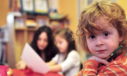 Four-Week Language Course for One or Two Children at GainVille Learning & Training Center (Up to 71% Off)