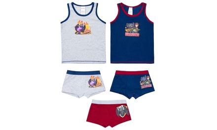 Set de ropa interior para niños de 5 piezas