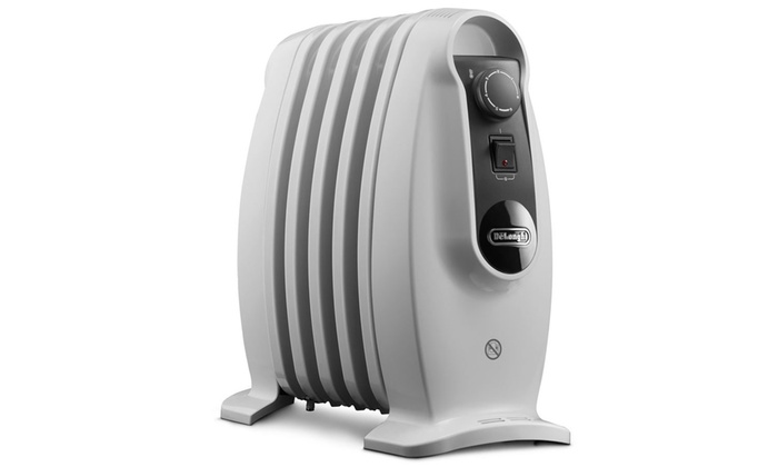 Groupon Goods Global GmbH: DeLonghi Nano Electric Oil-Filled Radiator With Free Delivery