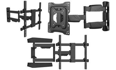 Fino Full Motion Wall Mounts For Up To 65 Quot Tvs Groupon