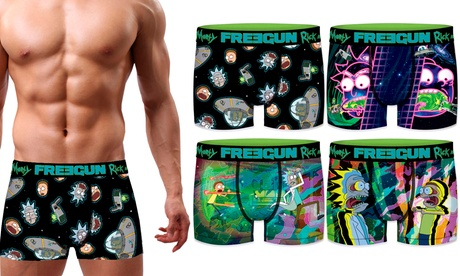 Pack de 4 boxers calzoncillos Freegun Rick & Morty