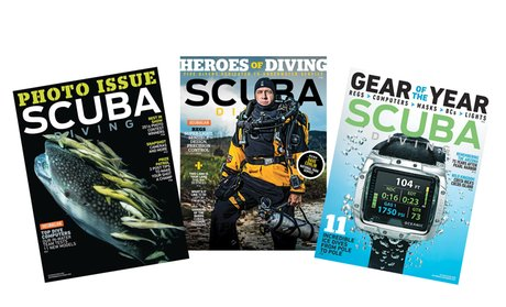 1-Year, 8-Issue Subscription to Scuba Diving Magazine