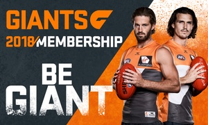 GIANTS: GIANTS: Choice of Membership Packages for Juniors, Adults and Families From $29