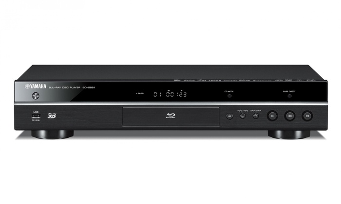 yamaha blu ray player with built in wifi livingsocial. Black Bedroom Furniture Sets. Home Design Ideas