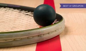 Okęcie Tennis Club: Squash: karnet godzinny (29,99 zł), 2-godzinny (od 39,99 zł) i więcej opcji w Okęcie Tennis Club