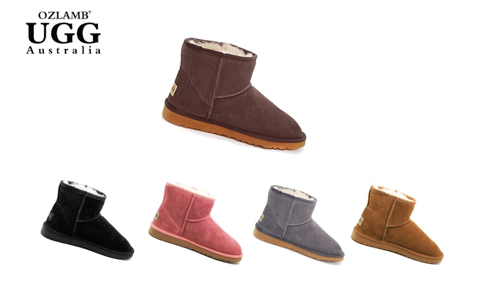 $59 for Ozlamb Unisex Ankle UGG Boots in Choice of Colour