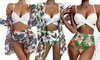 Set van bikini en kimono