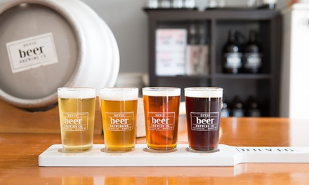 Two or Four Beer Flights from DuVig Brewing Company (Up to 41% Off)