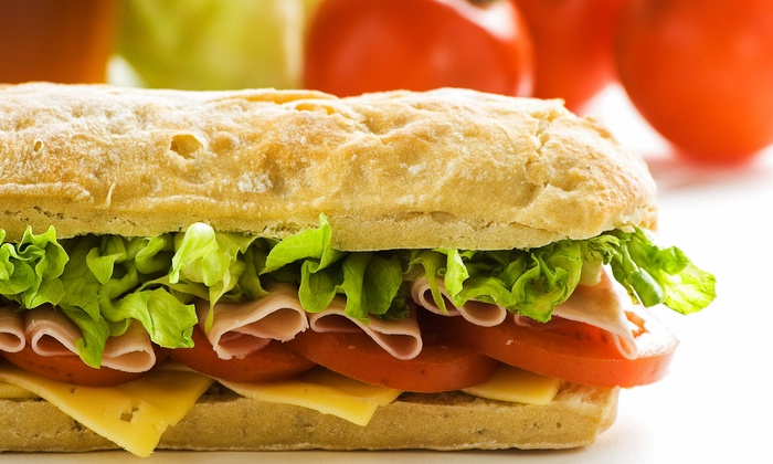 Tony's Subs - Deerfield: $15 for Three Vouchers, Each Good for $10 Off Your Bill at Tony's Subs ($30 Value)