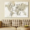 Maps Prints on Gallery Wrapped Canvas