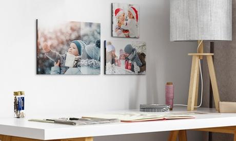 Impresión con imagen personalizable sobre acrílico y aluminio en tamaños a elegir desde 8,99 € con Photo Gifts